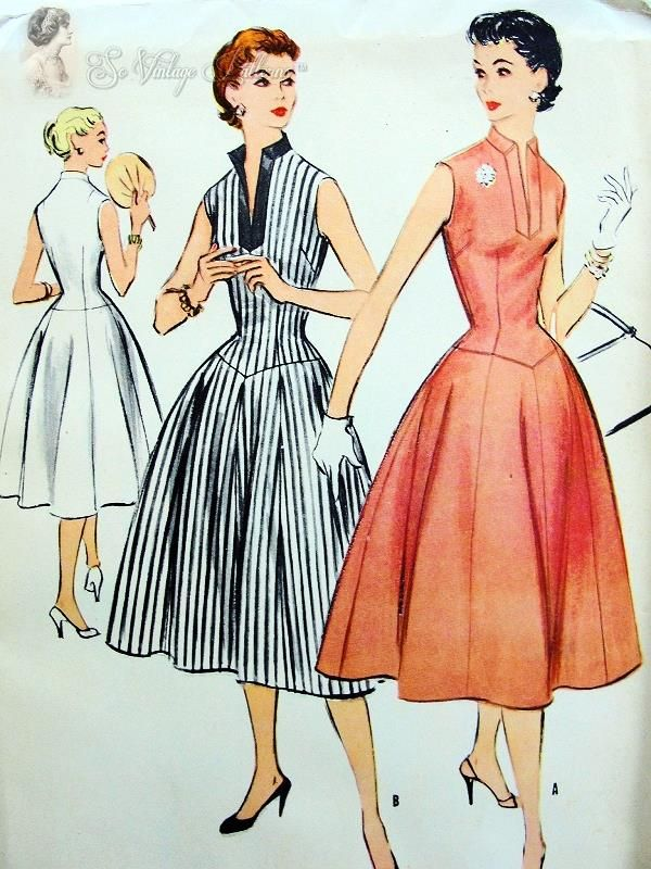 17 Best Images About Vintage Dress Patterns On Pinterest 1960s 60 Fashion And Jacket Pattern
