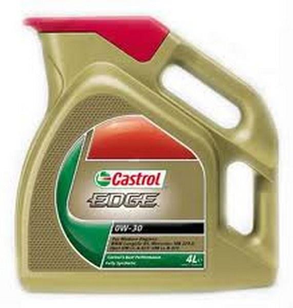 Motorový olej Castrol EDGE 0W-30 4L Autobaterie - Autodoplňky - Autosklo