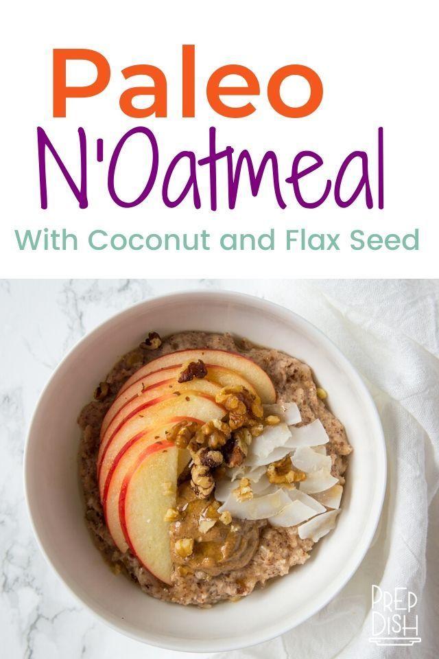 Easy Paleo Oatmeal Paleo Oatmeal Paleo Recipes Breakfast Recipes