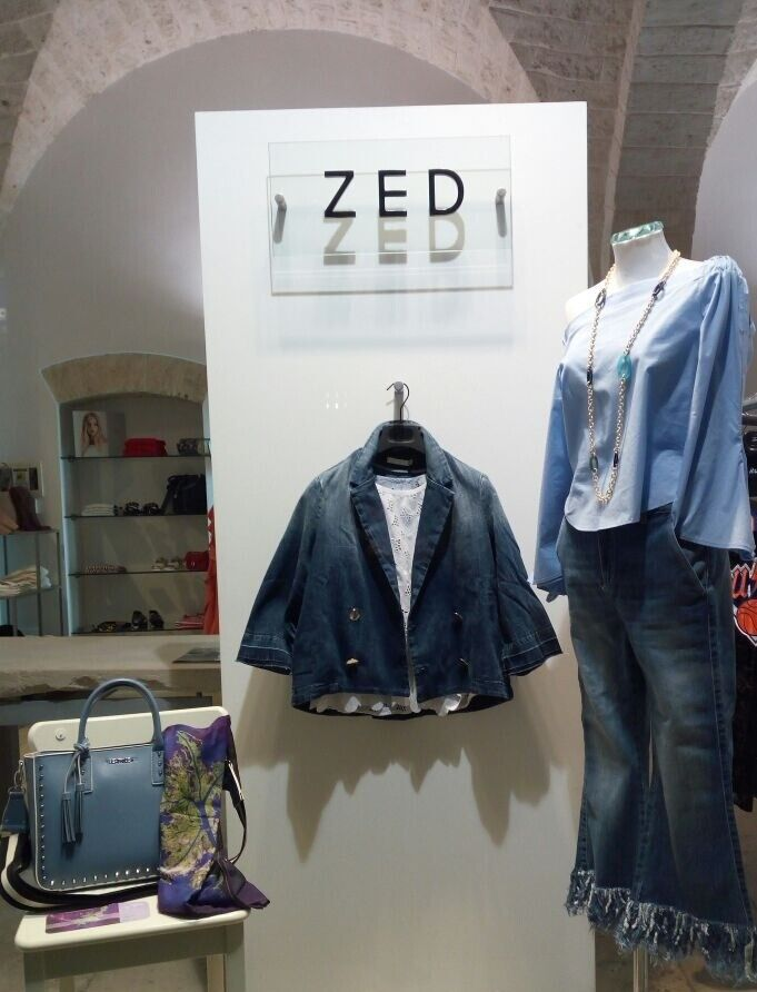 Where to find our creations: ZED boutique