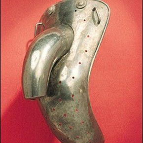 Used in Victorian asylums to prevent masturbation.  Very similar to modern day's male chastity belt.