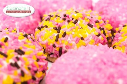 Biscotti con Marshmallow e Confettini Colorati
