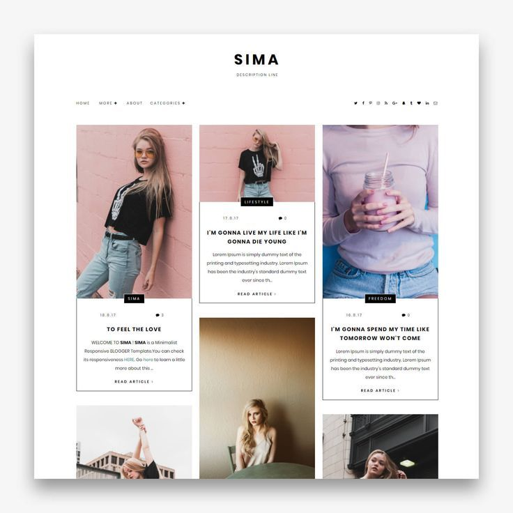 Free Premade Blogger Templates Hacks In 2020 Blogger Templates Blog Layout Design Blogger