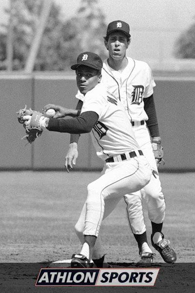 Detroit Tigers......<3short stop, Alan Trammell and 2nd baseman, Lou Whittaker <3