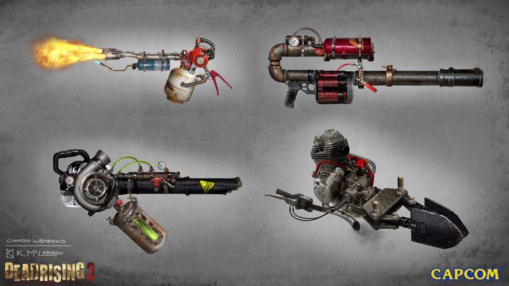 dead rising 3 weapon list - photo #9
