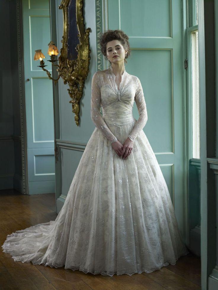 Ian stuart wedding dress 2012 killer queen bridal for Grace kelly wedding dress collection