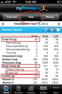 Tracking your MACRONUTRIENTS (Carbs/proteins/fats.)  If you're not paying attention to your macronutrients, read this!