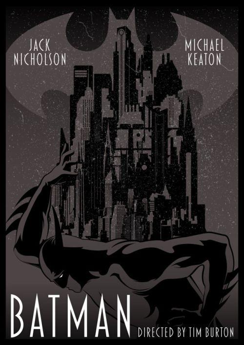 Batman by  Ciarán O'Donovan Fuck Yeah Movie Posters!