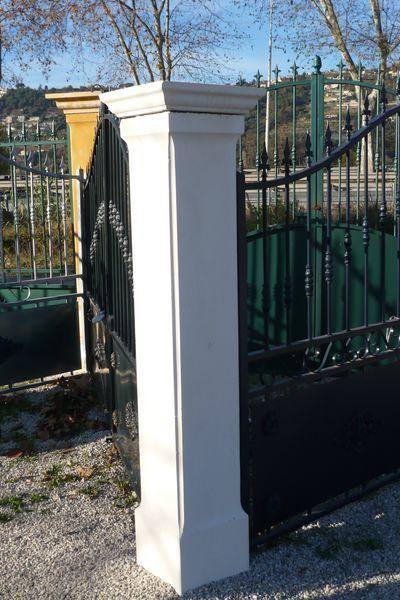 10 meilleures id es propos de pilier portail sur pinterest pilier de port - Pilier portail pas cher ...