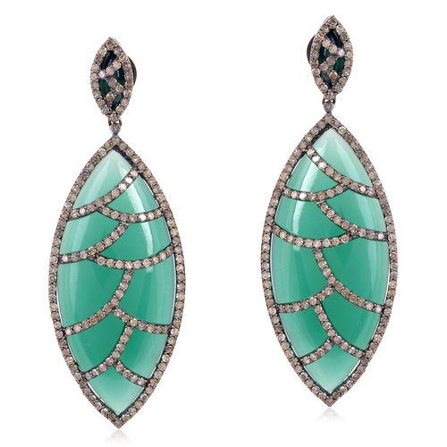 Bora Bora Earring-Green.JPG