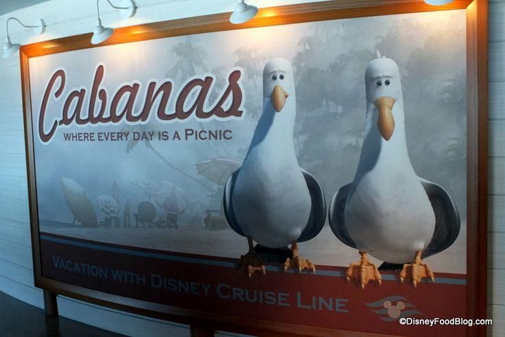 Disney Dream Cabanas