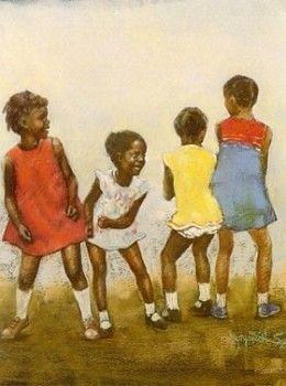 Brenda Joysmith Bumpin # #Children Produced in 1984 From The Tapestry I series. Bumpin