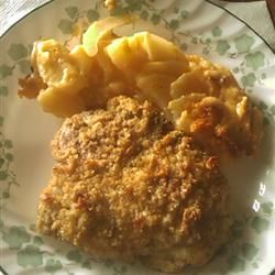 Parmesan Sage Pork Chops Allrecipes.com These are the BEST pork chops ...