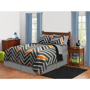 Jason Christmas 2013 Zig Zag Neon Bedding Set