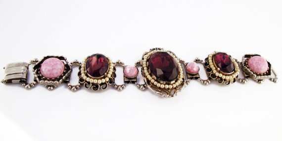 #Vintage #Victorian Style #Bracelet by Treasures On Broadway, $55.00