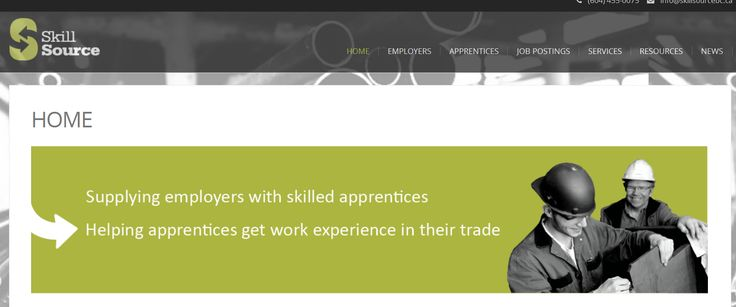 BC: SkillSource is a non-profit, group training organization with a mandate to increase access to trades training and work experience for apprentices. We sponsor and match apprentices with specific employers to learn the full scope of a trade and build industry-leading skills.