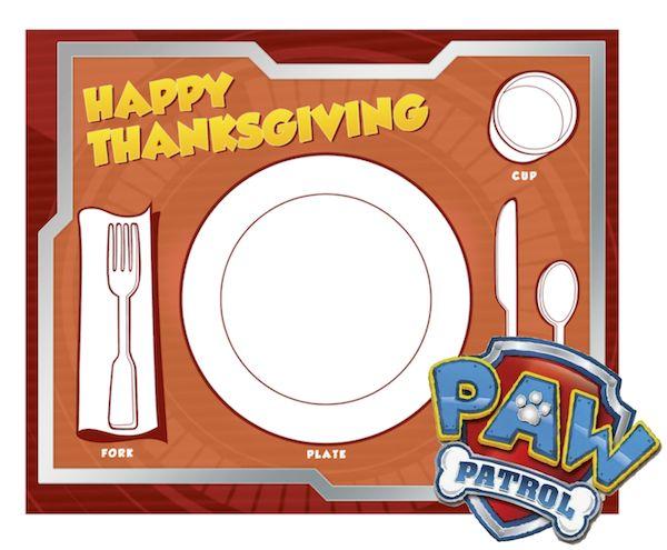 79 Best Thanksgiving Kids Printables Images On Pinterest
