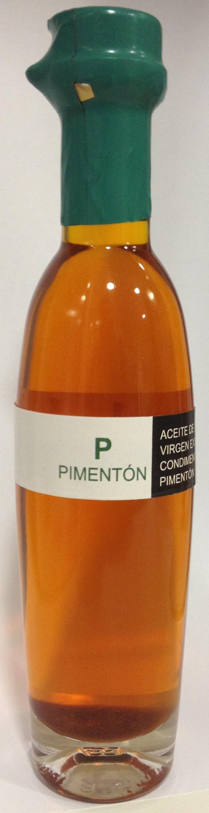 Aceite de oliva virgen extra ecostean con pimentón!