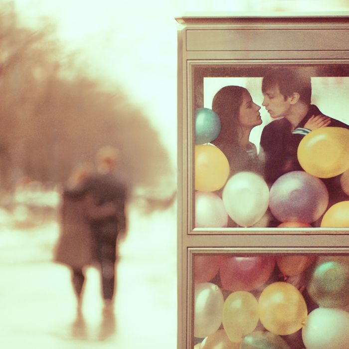 oprisco 500px: Engagement Photos, Cute Couple, Oleg Oprisco, Fine Art Photography, Portraits Photography, Cool Ideas, Balloon, Kiss Booths, Romance