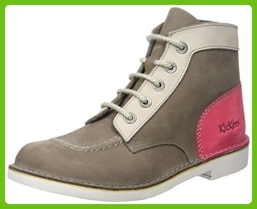 Kickers Damen Kick Col Kurzschaft Stiefel, Marron (Marron Clair Fuschia), 41 EU