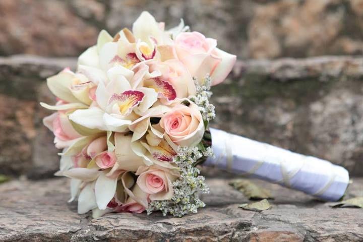 Un hermoso bouquet para un hermoso día.