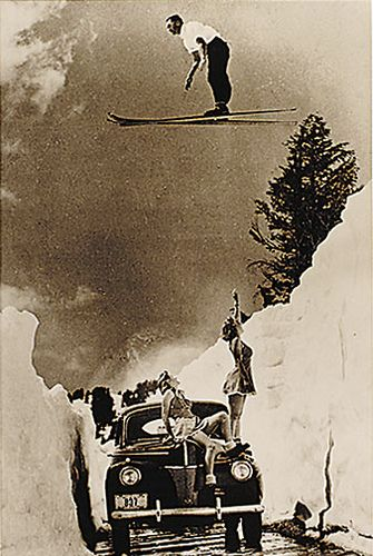 Alta deep snow. The good old days when snowboarders weren't allowed on the mountain... O-ya that's right,! you boarders still can't ride there. lol A