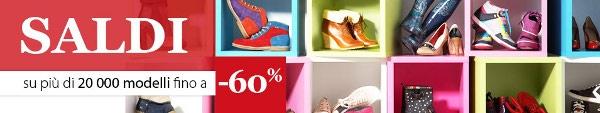 Saldi invernali 2013 Spartoo: scarpe in sconto online