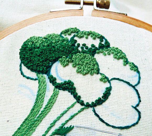 Flot forklæde med broccoli - Hendes Verden