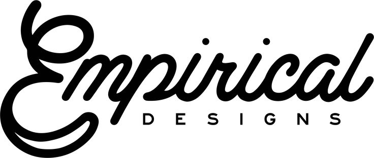 Empirical Designs - Wordmark Logo - Staten Island, New York - Graphic & Website Design firm.  If your brand or band is looking for a professional look, we're currently offering new branding packages to get you started. Find out more information on how to get started on your new logo design by visiting our website.