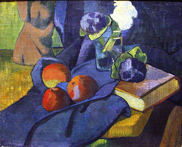 Still LIfe with Violets 1891, by Paul Serusier | Flickr - Photo Sharing!
