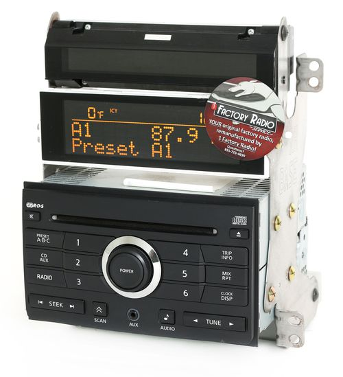 Remanufacture SERVICE for 2007 Nissan Maxima Radio AM FM Single Disc CD Player