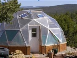 How Much Growing Space Is In A Geodesic Dome Greenhouse? #rrrsirgo