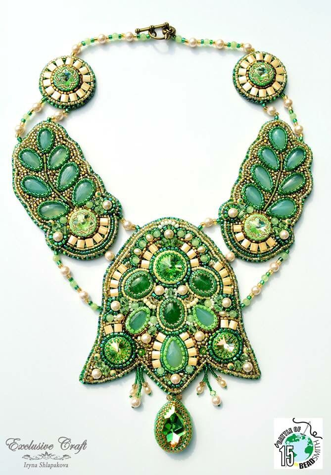 """Necklace """"Spring Symphony"""" by Exclusive Craft"""