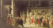The Last Senate of Julius Caesar  by Raffaele Giannetti