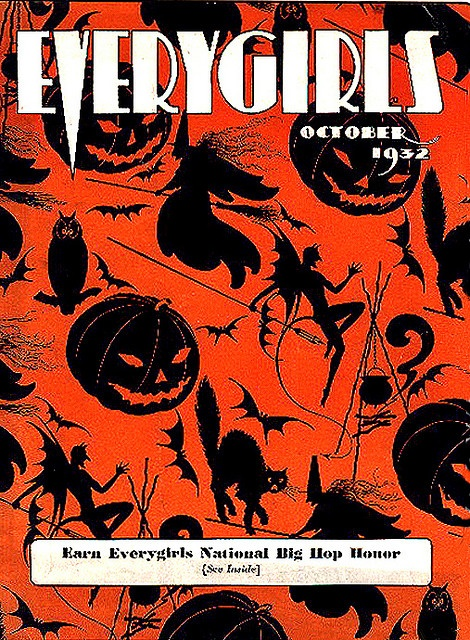 fantastic cool neato a fav everygirls vintage halloween magazine cover - Halloween Magazines