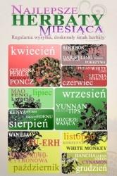 Plan herbat na 2012 rok    KWIECIEŃ : Cesarska Perła , Wiśniowy Poncz    MAJ: Darjeeling FTGFOP1 Himalayan: , Rooibos Lipa i Malina + Pokrzywa    CZERWIEC: Fujian White Long , Letnia Herbatka    LIPIEC: Mao Feng , Lapacho    SIERPIEŃ: Kenya Milima , Owoce Edenu    WRZESIEŃ: Yunnan Silver Tips , Rozgrzewająca    PAŹDZIERNIK: Pu-Erh , Żańszeniowo-Cytrynowa + Laska Wanilii    LISTOPAD: White Monkey , Korzenna    GRUDZIEŃ: Bancha Japan Green , Pigwowa + Cynamon w laskach
