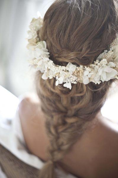 Flechtfrisuren für Bräute 2016: So schön können geflochtene Elemente am Hochzeitstag sein! Image: 3