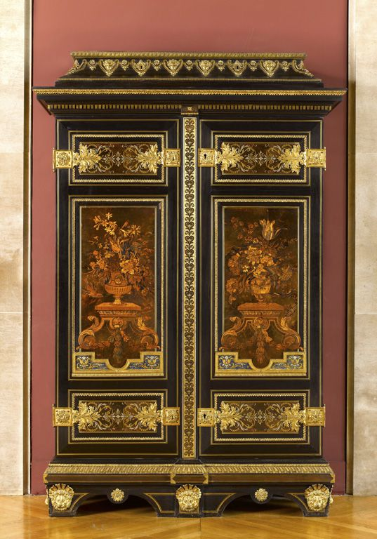 André-Charles BOULLE - Armoire - Louvre (LOUIS XIV)