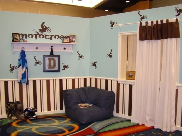 Dirtbike Bedroom For My Son