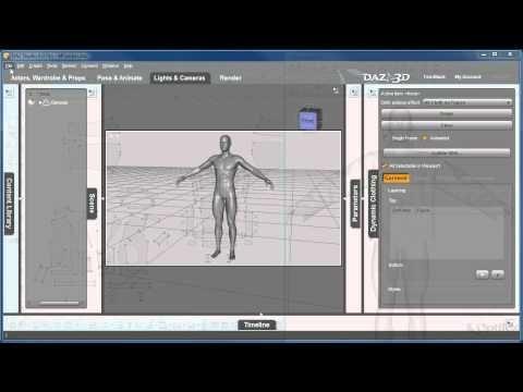 ▶ Workflow Daz3D OptiTex - YouTube