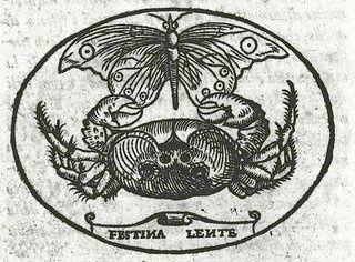 Festina Lente.