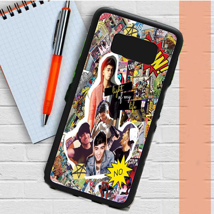 One Direction,Zayn Malik Comic Collage Samsung Galaxy S8 Plus Case Casefreed