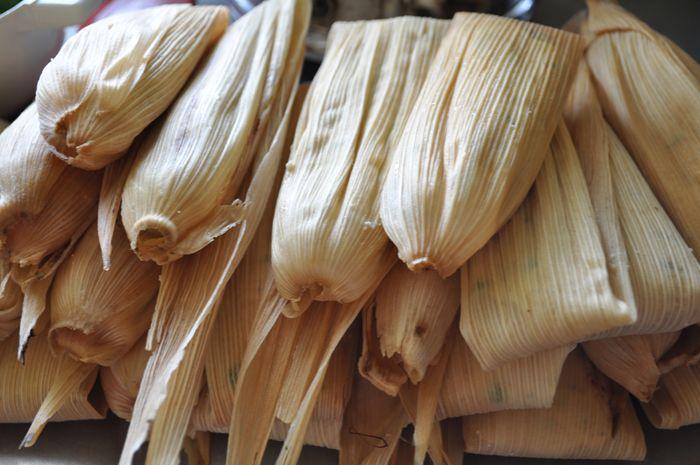 Tamales Veganos | Leche de Coco