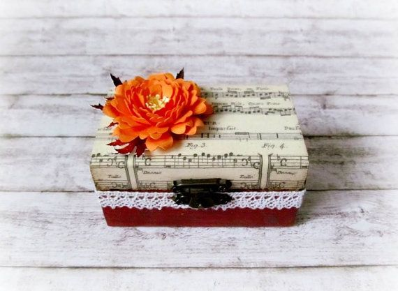 Wedding  Paper  Decoupage  Handmade  Flower  by CadouriFistichii