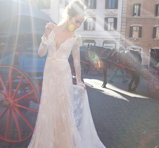 Inbal dror israeli haute couture wedding dress designer for Israeli wedding dress designer inbal dror