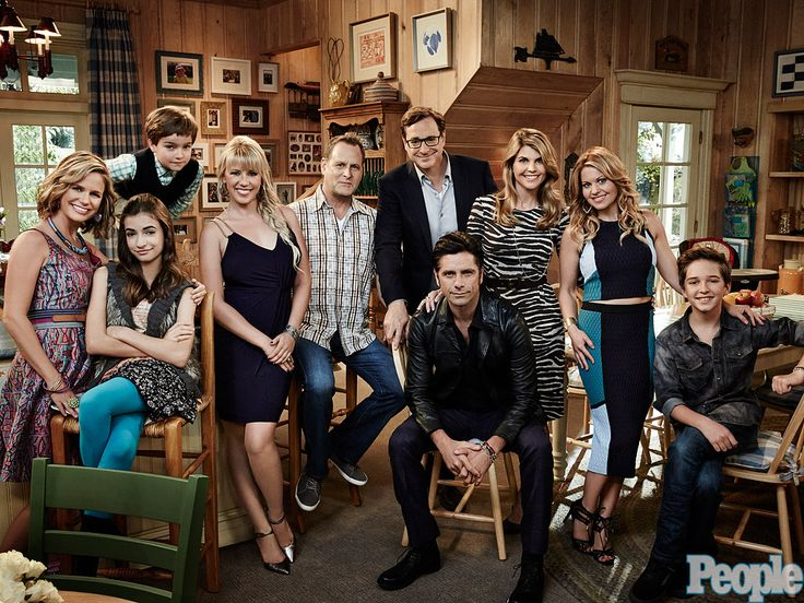 PEOPLE Takes You on the Set of Fuller House: John Stamos Says, 'We Never Stopped Loving Each Other'| Full House, Fuller House, Ashley Olsen, Dave Coulier, John Stamos, Mary-Kate Olsen