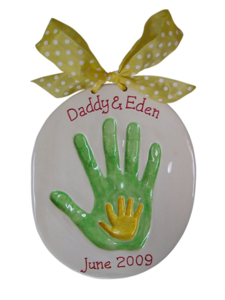 Mommy and Baby Handprint Gift Kit  What do u think of this one Kris?