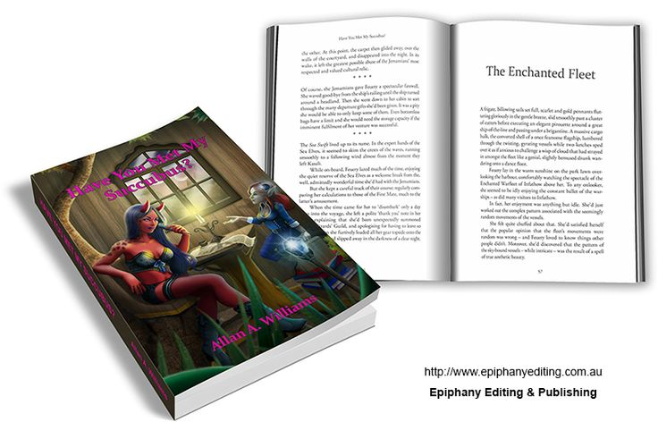 Book design for 'Have You Met My Succubus?'  Visit http://www.epiphanyediting.com.au for more examples of book design #bookdesign #selfpublishing