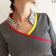 Haut Thelma par Du fil et mon ... - thread&needles