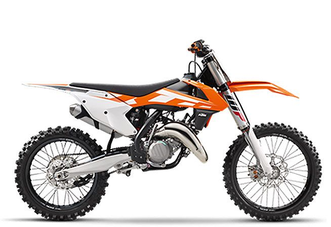 KTM's Two-Strokes return for 2016; 125 SX and 150 SX deliver more power, less weight.